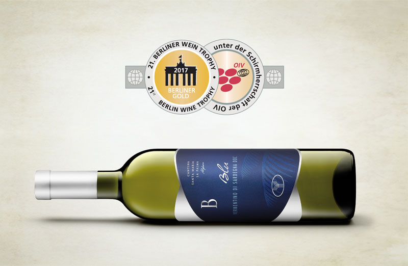 Vermentino Blu Berliner Wine Trophy 2017